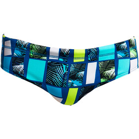 Funky Trunks Classic Parte Inferior Hombre, tropic tower
